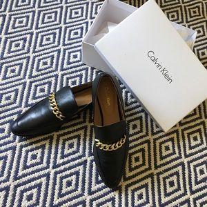 Calvin Klein Fanna Loafers (worn once!)